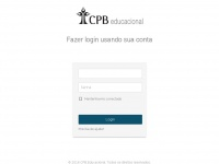 Login - CPB Educacional