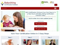 Babysittingcert.com - The Babysitting Certification Institute Training Course
