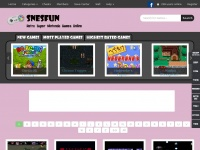 Snesfun.com - SNESFUN Play Retro Super Nintendo / SNES / Super Famicom games online in your web browser free