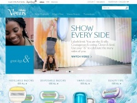 Gillettevenus.com.au - Gillette Venus Razors for Women | Get a Smooth Shave