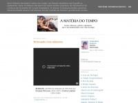 Amateriadotempo.blogspot.com - A Matéria do Tempo