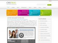 Cmsfrog.de - Content Management System (CMS) online - CMS frog