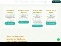 Hpeninsula.com.br - Hotel Península - O Resort da Represa Jurumirim - Avaré SP