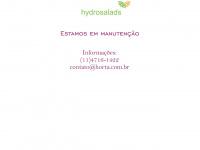 """Hydrosalads.com.br - """"Em Manutenção"""""""