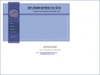 Hydropressao.com.br - ++ HYDROPRESSÃO - COMÉRCIO DE PRODUTOS DE PRECISÃO LTDA.