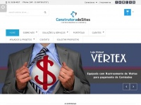 CONSTRUTORA DE SITES : Criar Sites e Lojas Virtuais na Internet