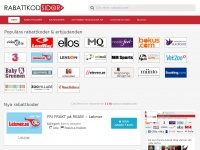 Rabattkodsidor.se - rabattkoder och kampanjer till svenska nätbutiker