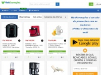 ▷Web Promoções → Agrega Super Ofertas, Cupons de Descontos, Brindes e Promobugs na Internet!