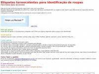 Identifix.com.br - Etiquetas termocolantes para identificação de roupas - Identifix - Papagueno - brinquedos educativos