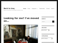 Back-to-iraq.com - Back to Iraq – Being a recounting of my journalistic ventures in Iraq