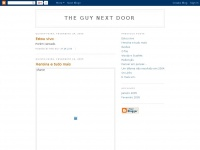 Tgnd.blogspot.com - The Guy Next Door