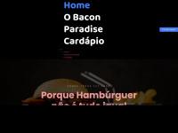 Baconparadise.com.br - Bacon Paradise . Fat Food & Bar