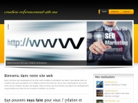 Creation-referencement-site.ma - Creation site web Marrakech Maroc et referencement SEO