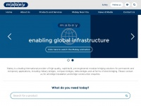 Bridge Construction | Bridge Installation | Mabey - English