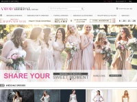 Amodabridal.com.au - Wedding Dresses Online, Bridesmaid & Formal Dresses Online Up To 70% OFF amodabridal.com.au