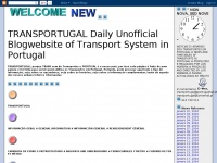 TRANSPORTUGAL Daily Unofficial Blogwebsite of Transport System in Portugal