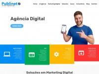 Criação de Sites -         (11) 2656-3046 -         Publinet