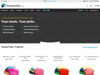 Ownguitarpicks.co.uk - Custom Guitar Picks | Create your own custom guitar picks online now!