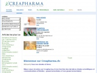 Creapharma.ch - Creapharma | Site santé de qualité