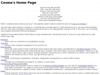Bactra.org - Cosma's Home Page