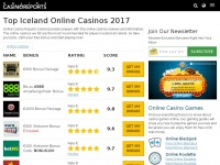 Onlinecasinoreports.is - Iceland Online Casinos, Iceland Gambling Online Guide | OnlineCasinoReports Iceland