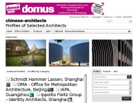 Chinese-architects.com - Chinese-Architects | Profiles of Selected Architects, Engineers and Designers