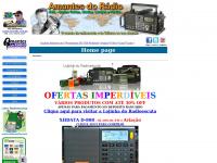 Amantes do Rádio - Página principal