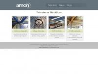 Amon.com.br - Projeto, Fabricação e Montagem de Estruturas Metálicas para a Construção Civil