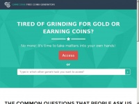 Igeneratecoins.win - - Try The Best Coin Generator