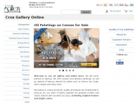 Croxgallery.com - Crox Gallery, Oil Paintings for Sale, Buy Your Painting Online.