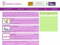 Express-flowers.ca - Flowers, same day delivery of flowers arrangements, send flower in Canada.