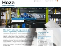 Hoza.es - Rolcontainers, roll-in en dollies - Hoza