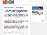 Comofazerumtcc.net - Como Fazer um TCC Passo-a-Passo