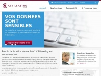 Csileasing.fr - CSI Leasing France - the power of experience
