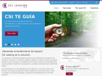 Csimexico.com - CSI Leasing Mexico - ES - the power of experience