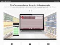 Rádio Indoor - Plataforma para Automação de Rádios Ambiente