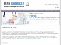 Mskcourses.net - MSK Courses