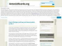 antonioricardo.org