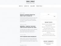 Oddlygreat.net - Oddly Great – My personal blog