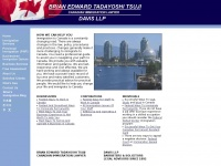 Immigratingtocanada.com - Canadian Immigration and Business Law Office - Brian Edward Tadayoshi Tsuji