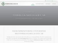 Badrumsrenoveringaristockholm.se - Badrumsrenovering Stockholm | Nybergs Kakel & Golv AB