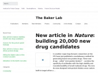 Bakerlab.org - The Baker Lab - Part of the UW Institute for Protein Design