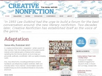Creativenonfiction.org - Creative Nonfiction | True stories, well told.
