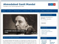 Ahmedabadganitmandal.org - Ahmedabad Ganit Mandal – Founded in 1957 and incorporated in 1963