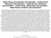 Onde Posso Juramentar Documento?