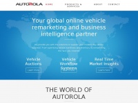Autorolagroup.com - Online Vehicle Remarketing and Business Intelligence - Autorola Group