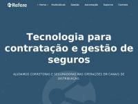Refere.com.br - Refere - Tecnologia para contratação e gestão de seguros