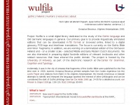 Wulfila.be - Wulfila project: a small digital library dedicated to the study of the Gothic language