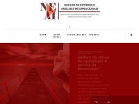 NEAI - Núcleo de Estudos e Análises Internacionais -