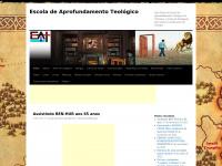 Escola de Aprofundamento Teológico | Site Oficial da Escola de Aprofundamento Teológico de Fortaleza, veículo de divulgação para alunos e professores de teologia.